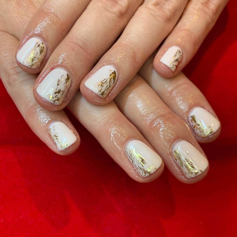 CND shellac, nail art, foil, nail pro, nail artist, nail tech, manicure, gel nails, shellac nails, manicure