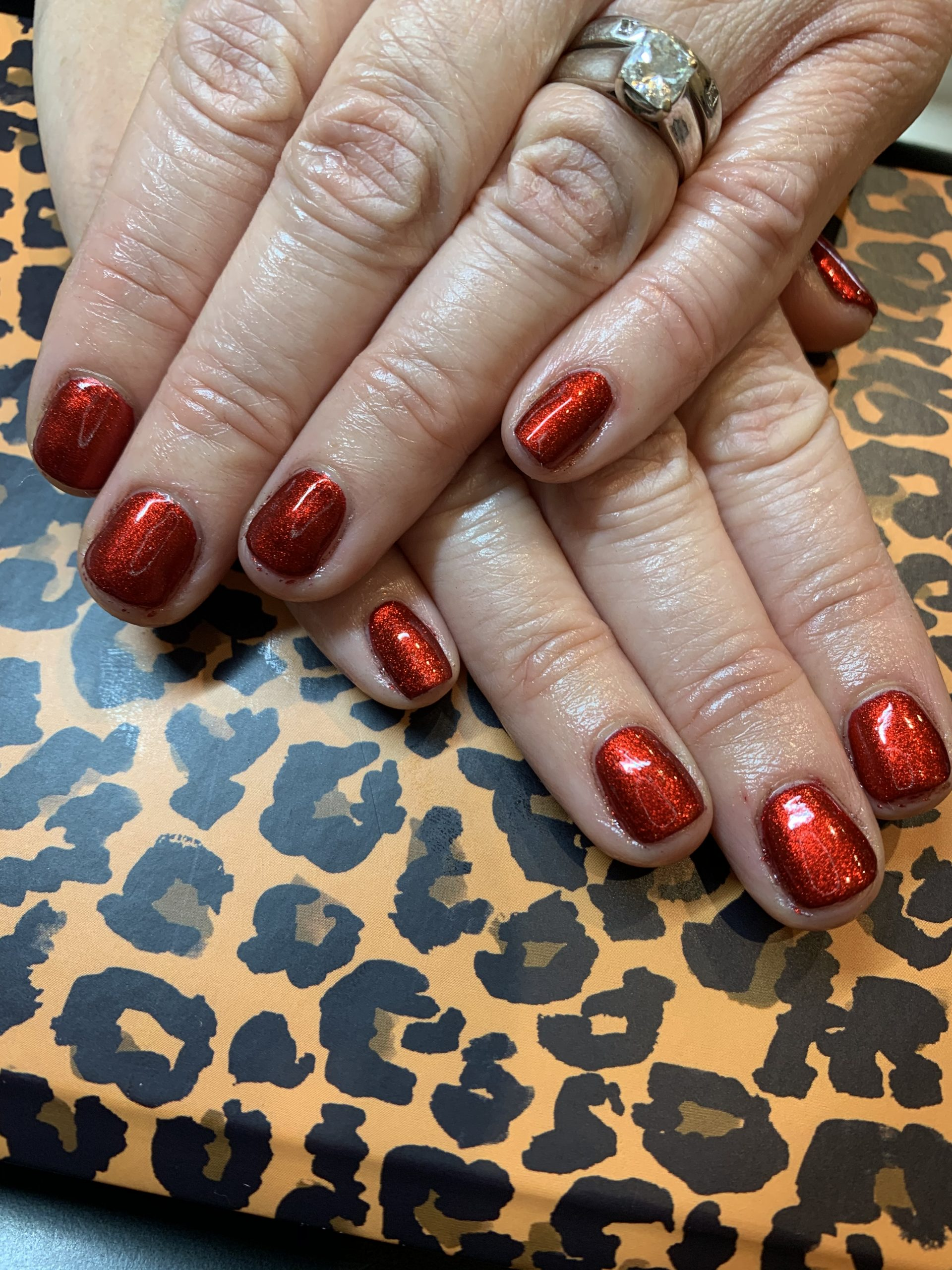 Shellac & Lecenté red chrome