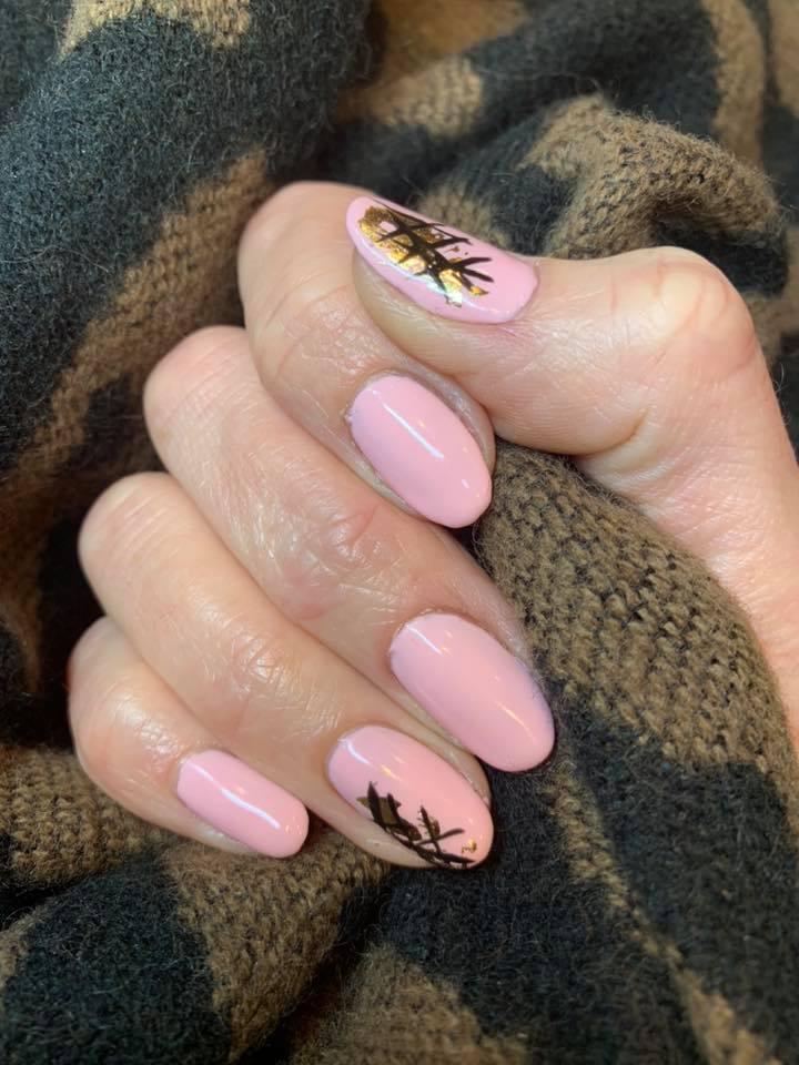 Shellac & nail art